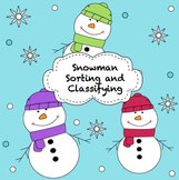 Sorting and Classifying with Snowman Cards