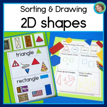 Sorting and Drawing 2D shapes