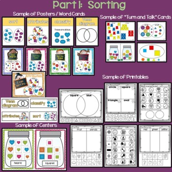Graphing and Sorting for Kinders
