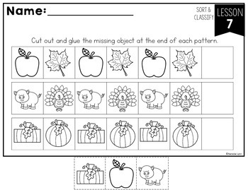 Sorting and Patterns Unit