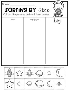 Sorting and Patterns Worksheets
