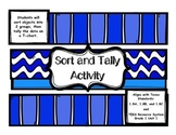 Sorting and Tally Activity Texas Standards 1.8A, 1.8B, and 1.8C