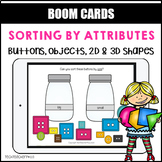 Sorting by Attributes BOOM LEARNING CARDS Activity