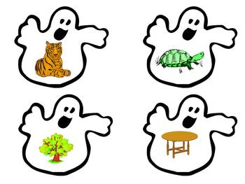 "Sorting by Beginning Sounds ""A Ghostly Beginning Sound Sort"""