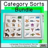 Sorting by Category File Folder Activities for Autism Early Childhood