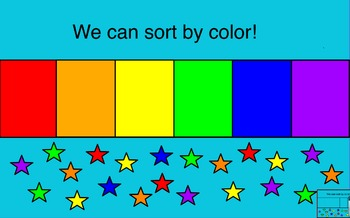 Sorting by Color, Shape, and Size