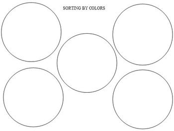 Sorting by Color & Size - Assessment