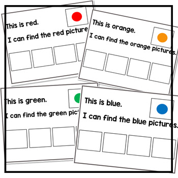 Sorting by Colors: Adapted Book