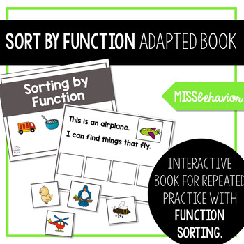 Sorting by Function: Adapted Book