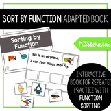 Adapted Book | Function | Sorting By Function