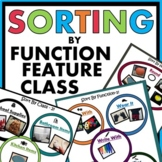 Sorting by Function, Feature, Class