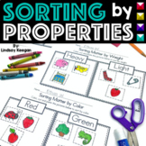 Sorting by Attributes - Size, Texture, Color, Shape, Weight