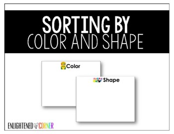 Sorting by Shape and Color