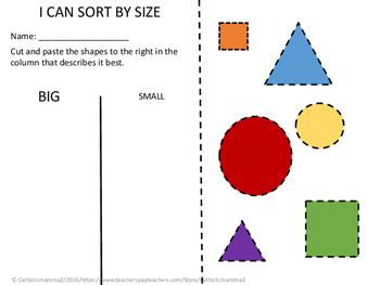 Sorting by Size