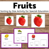 Fruits Sorting by Size for Special Education