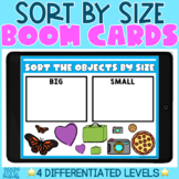 Math Sorts | Sorting by Size | Interactive BOOM Cards | Di