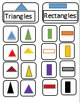Sorting by attribute game (great for ABA, autism, or anyone teaching sorting)