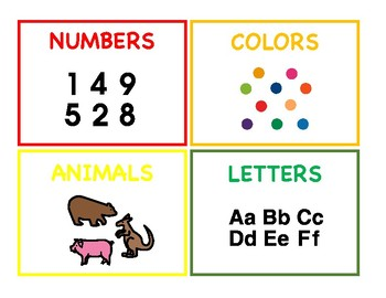 Sorting for Basic Categories {FREEBIE}