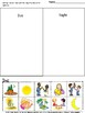 Sorting Classifying Kindergarten Special Education Autism Cut and Paste