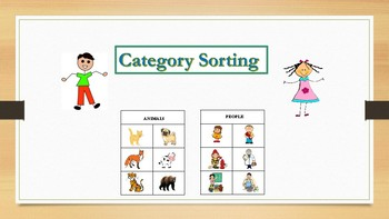 Sorting into Categories