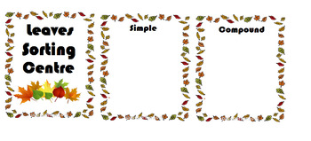 Sorting leaves - simple vs compound