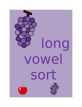 Sorting long and short vowels