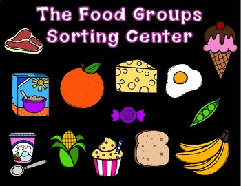 Sorting the Food Groups Science Center and Posters