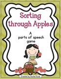 Parts of Speech - Sorting through Apples