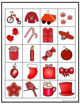 Christmas Sort by Color