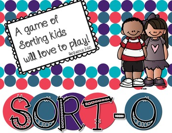 Sort-O The Sorting Game Kids will Love- 1-60