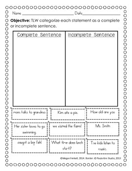 Sorts For Reading and Writing
