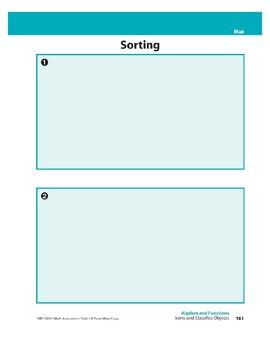 Sorts and Classifies Objects (Algebra)