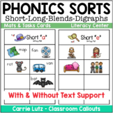 Phonics Sorts ~ Sorting Activities for Phonics Practice