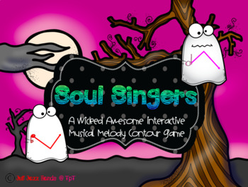 Soul Singers- A Melody Contour Game for the Music Class