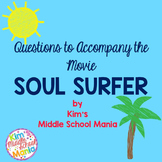 Soul Surfer Movie Questions End of the Year Activity