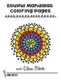 Soulful Mandalas Coloring Pages