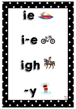 Sound Alike - digraphs posters