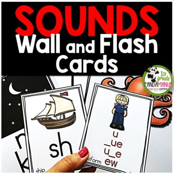 Sound And Spelling Wall Cards and Flash Cards