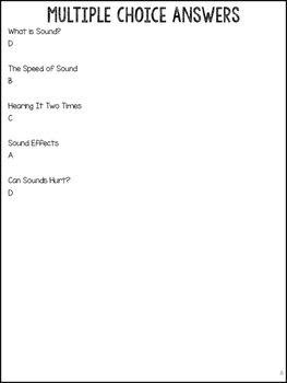 Sound Articles: What is Sound, Speed of Sound, Echoes, Effects, & more!