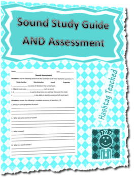 Sound Assessment and Study Guide Bundle