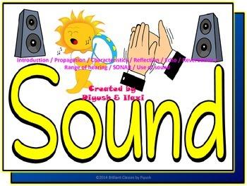 Sound - Basics, Characteristics, activities and Applications