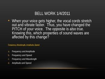 Sound Bell-work