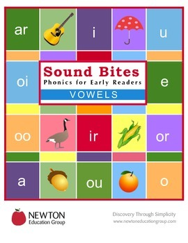 Sound Bites Phonics for Early Readers  VOWELS