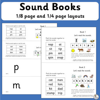 Sound Books that support Jolly Phonics   SASSOON Font