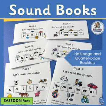Phonics Sound Books complement programs like Jolly Phonics