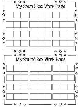 Free phonics graphic organizers resources lesson plans sound box elkonin boxes work pages pronofoot35fo Gallery