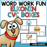 Elkonin Boxes | Short Vowels CVC | Word Work Boxes