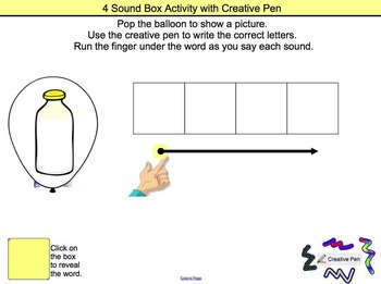 Sound Box INTERACTIVE Smartboard Activities