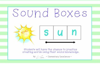 Sound Box INTERACTIVE Smartboard Activities