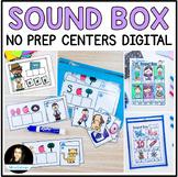 Sound Box Spelling Puzzles BUNDLE Secret Word Graphophonemic Knowledge Phonics
